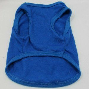 Unbranded Other - Got Biscuts Size S Pet Sleeveless Blue Tank Top